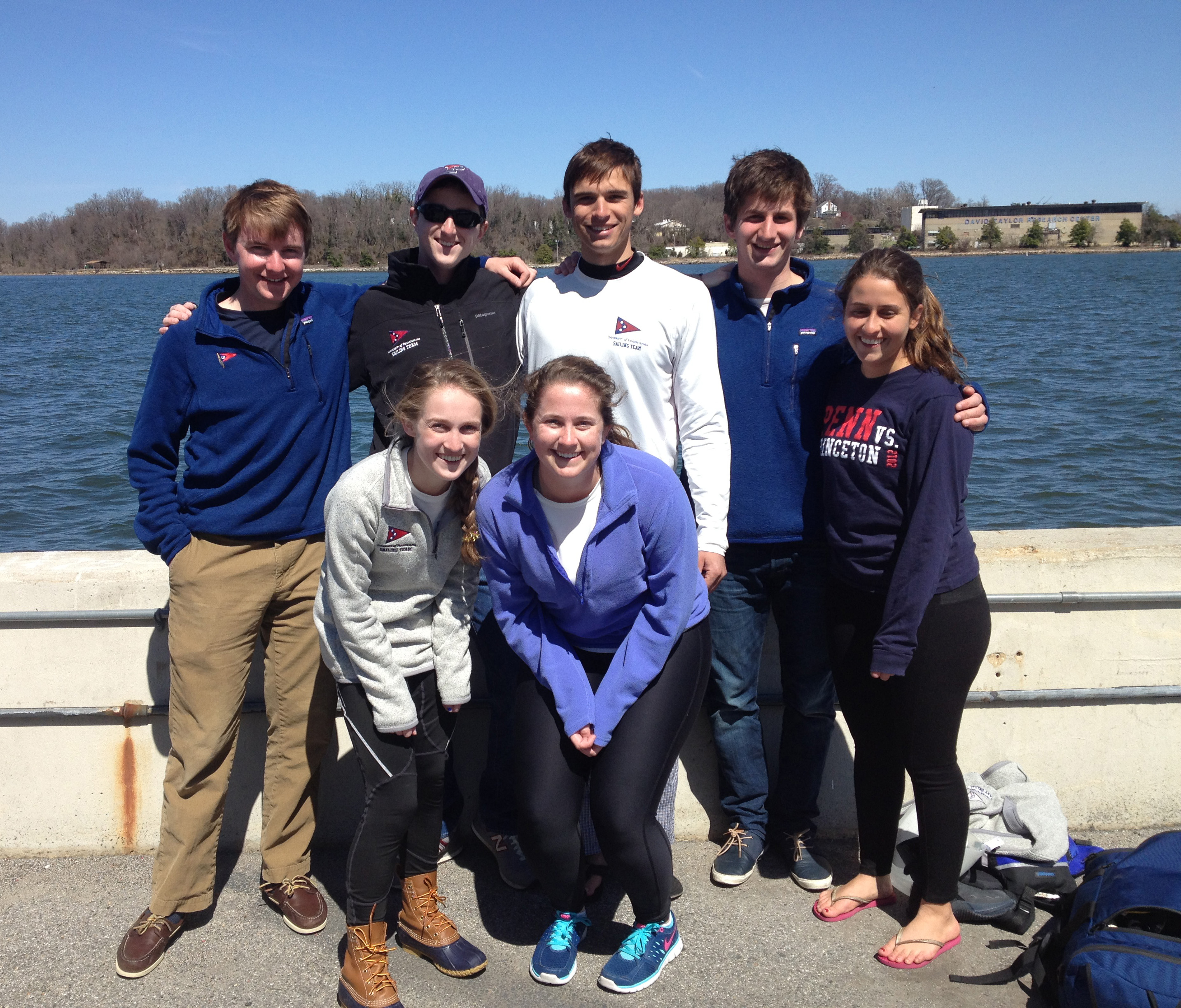 Penn Sailing Finishes 7th in MAISA Team Race Champs