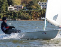 Freshman Keen Butcher Competes in MAISA Laser Championship