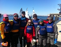 Freezing Cold at Admiral Moore Team Race